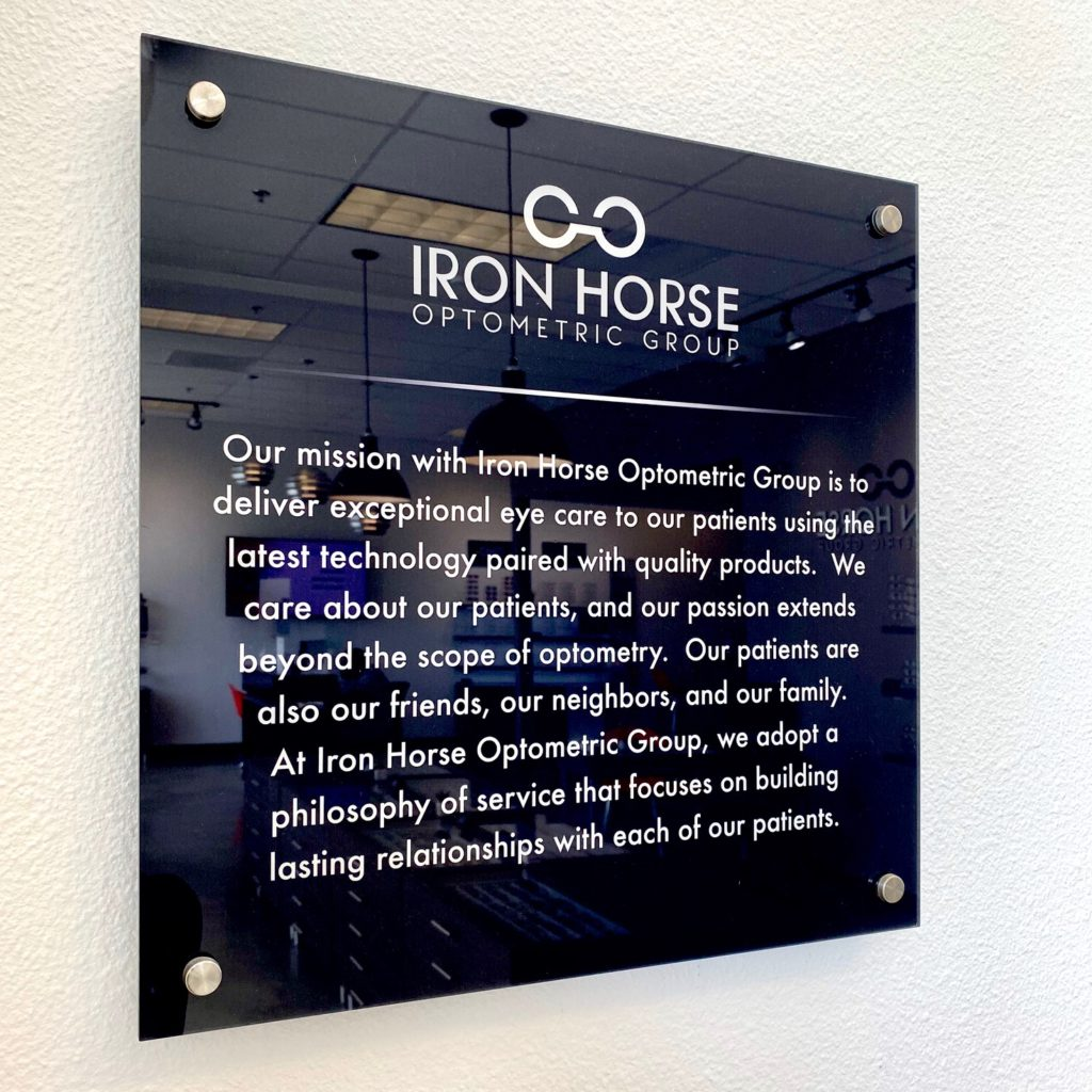 Our mission with Iron Horse Optometric Group is to deliver exceptional eye care to our patients using the latest technology paired with quality products. We care about our patients, and our passion extends beyond the scope of optometry. Our patients are also our friends, our neighbors, and our family. At Iron Horse Optometric Group, we adopt a philosophy of service that focuses on building lasting relationships with each of our patients.